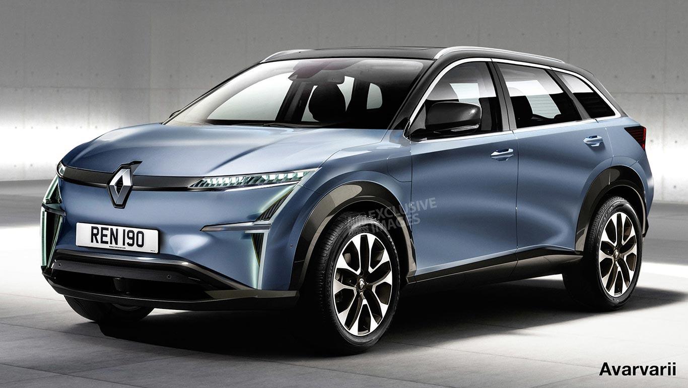 próximo SUV eléctrico Renault