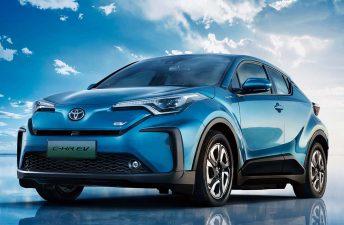 Toyota lanzó el C-HR eléctrico