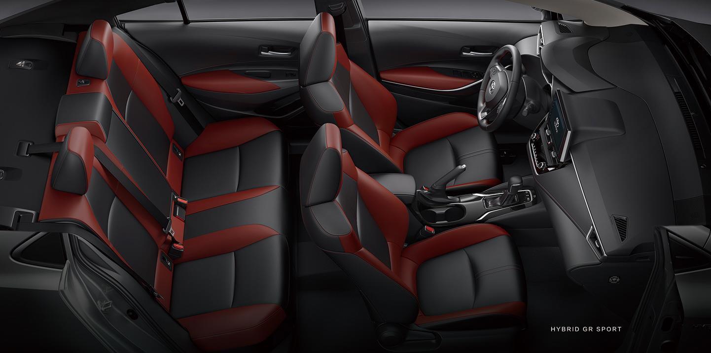 Interior Toyota Corolla GR Sport