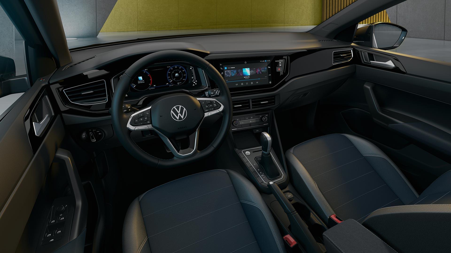 Interior Volkswagen Nivus