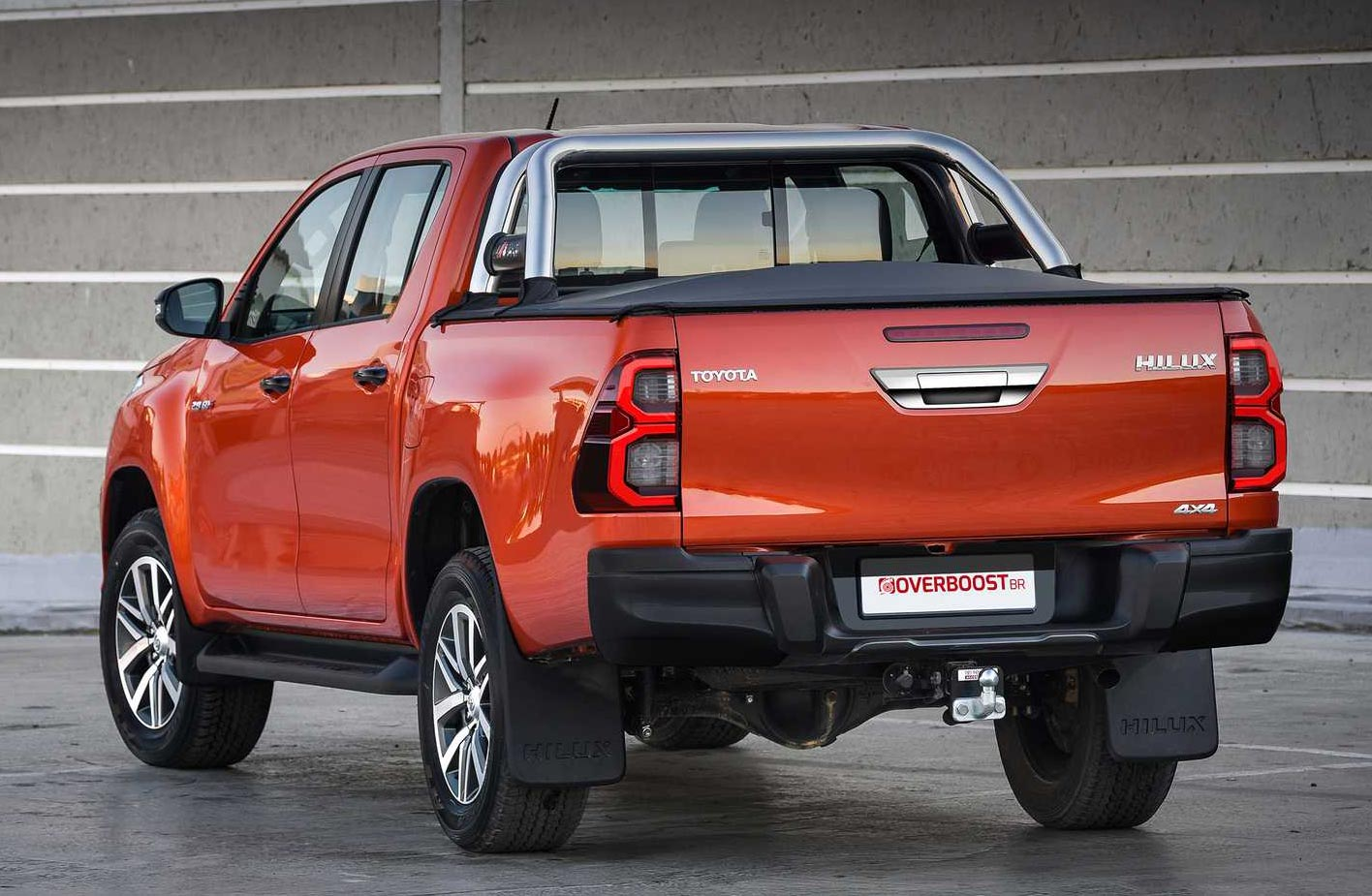 Nueva Toyota Hilux 2021 (restyling)