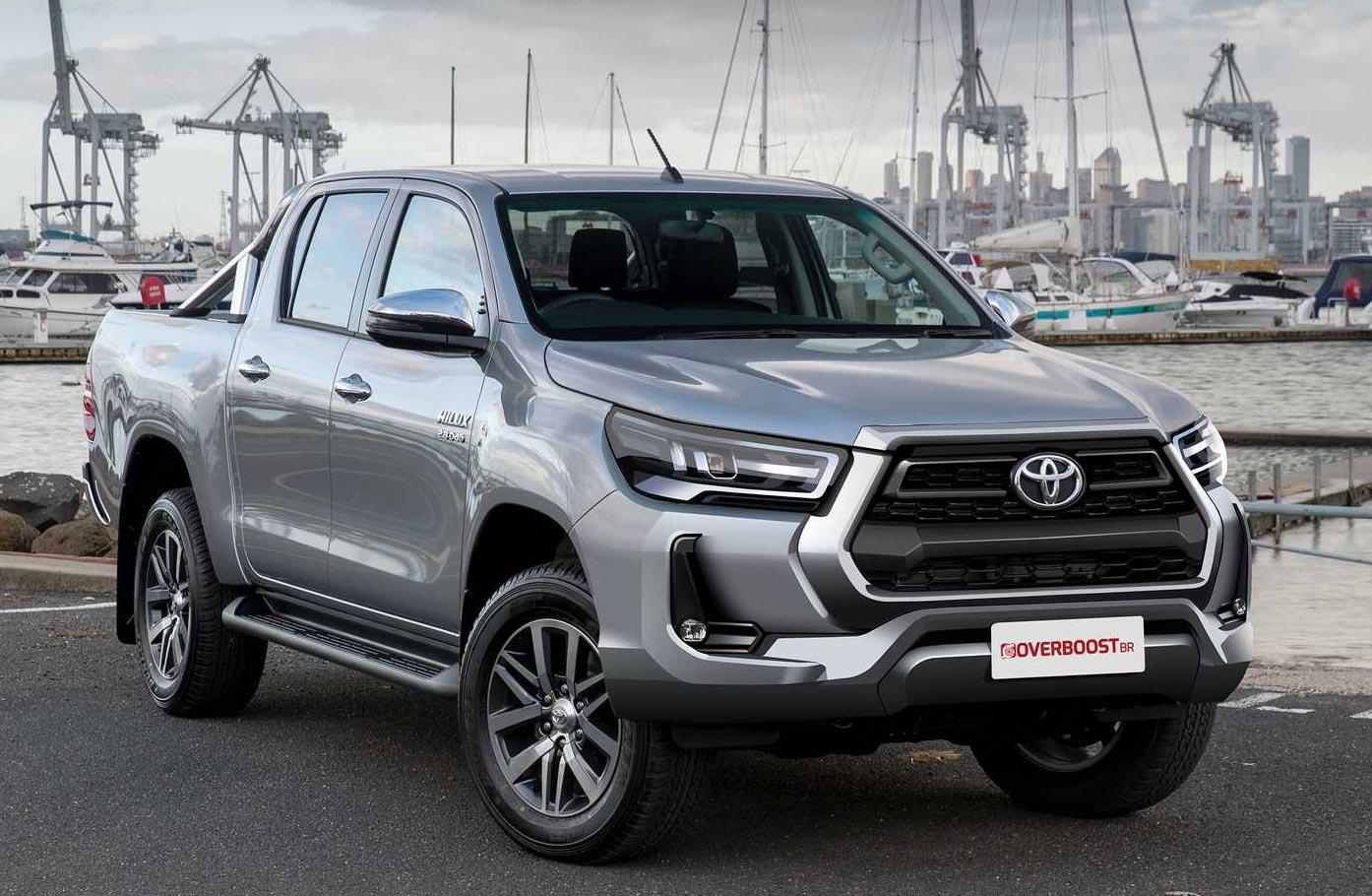 El rediseño de la Toyota Hilux en foco