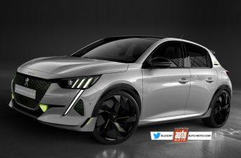 ¿Un Peugeot 208 eléctrico y deportivo?