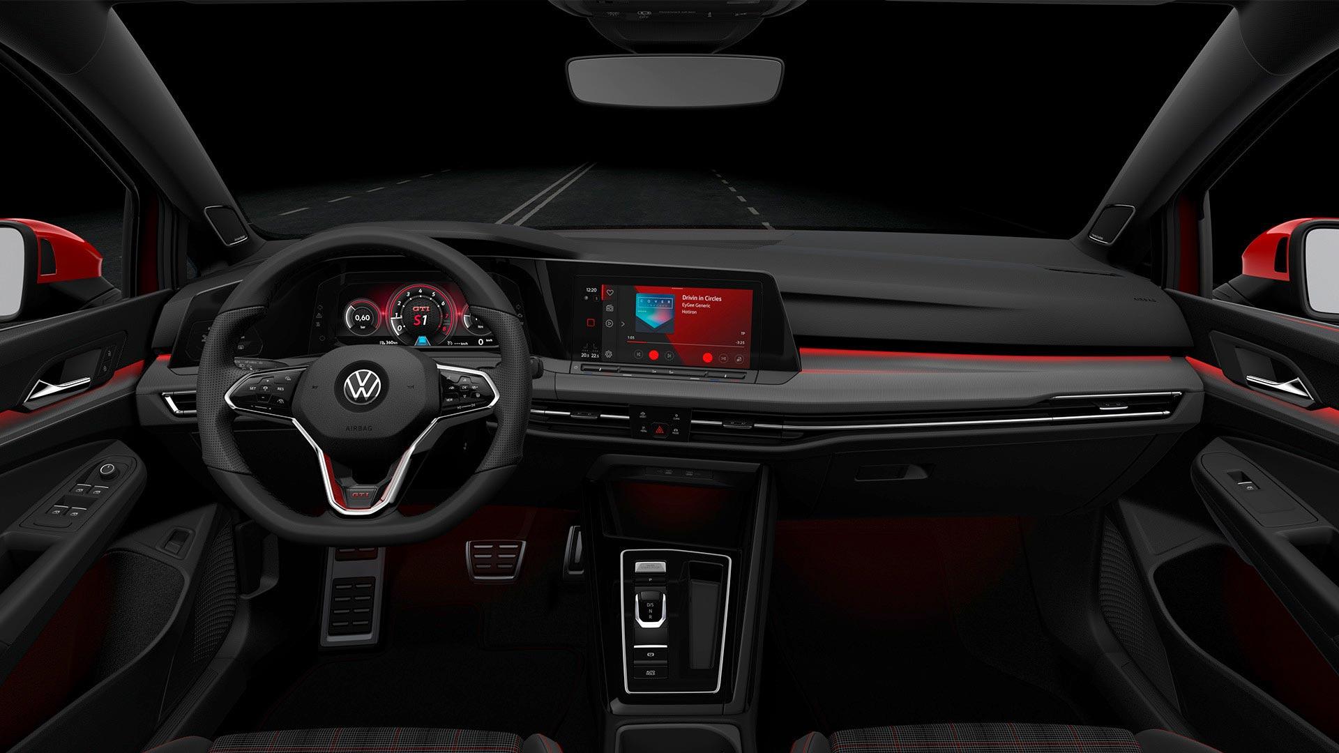 Interior nuevo Golf 8 GTI