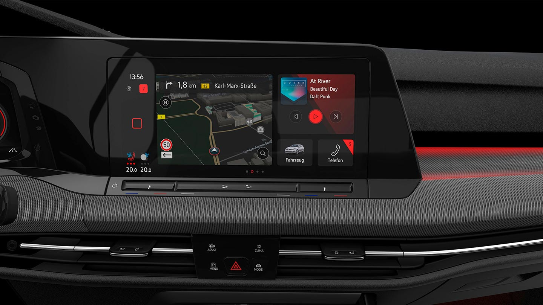 Multimedia Nuevo Golf 8 GTI