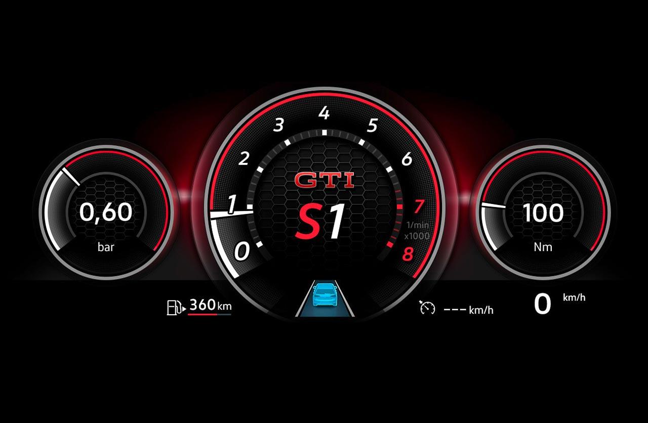 Tablero digital Nuevo Golf 8 GTI