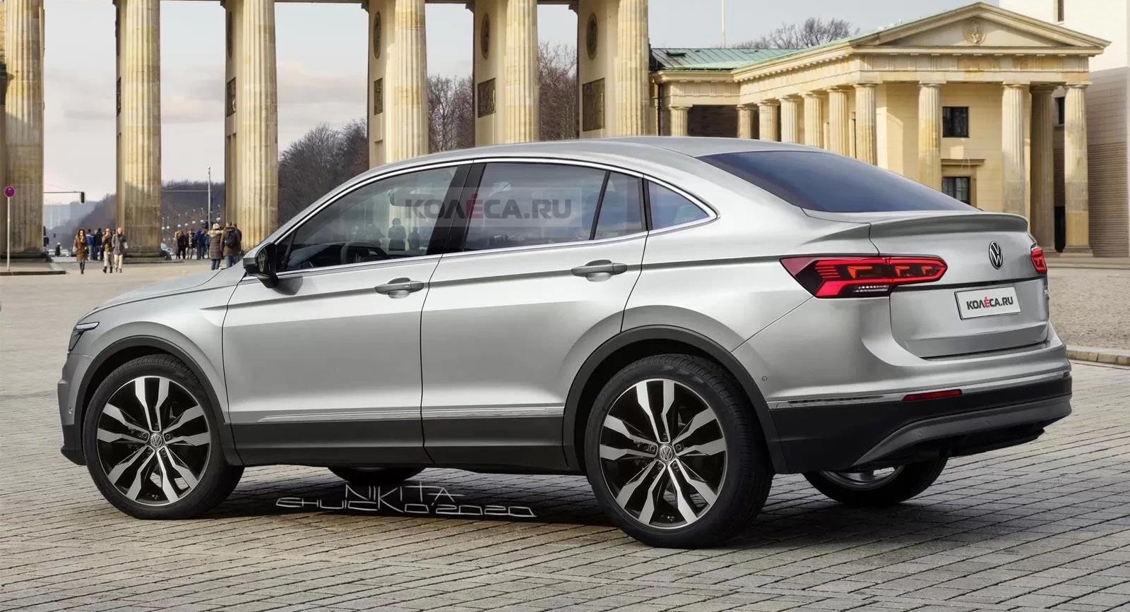 Volkswagen Tiguan Coupe render