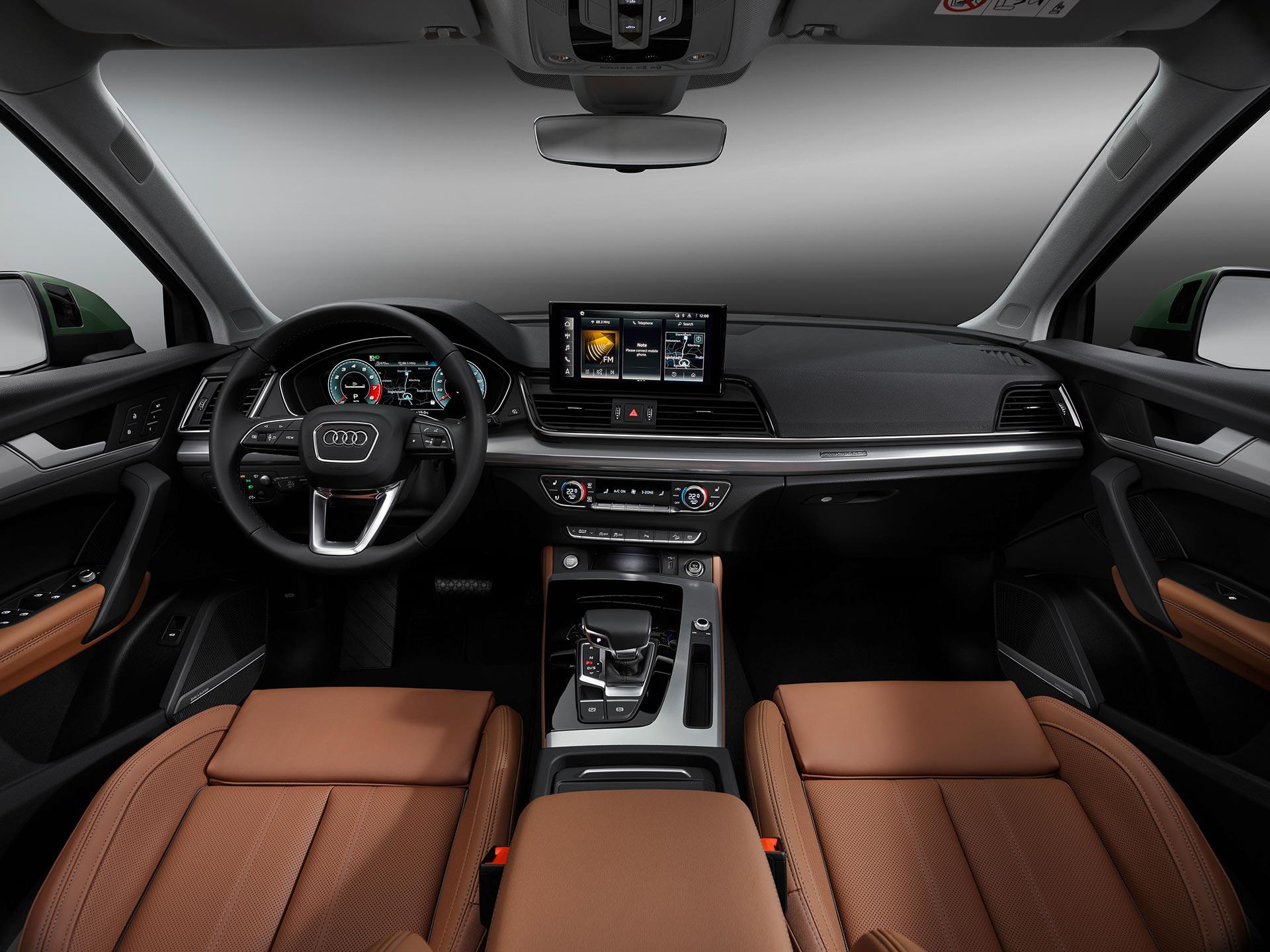 Interior Nuevo Audi Q5 2021