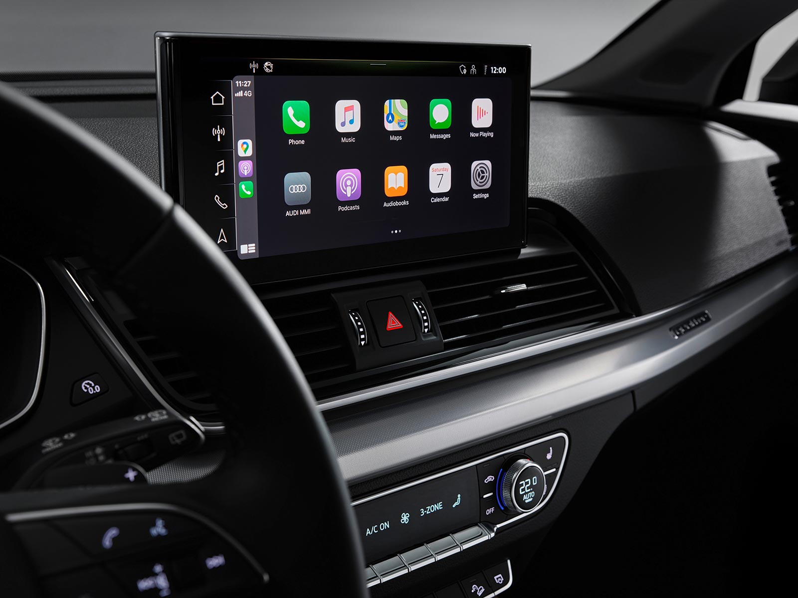 Nueva pantalla Audi Q5 2021