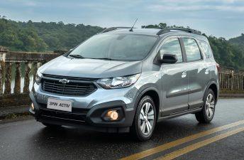 El Chevrolet Spin sumó el control de estabilidad