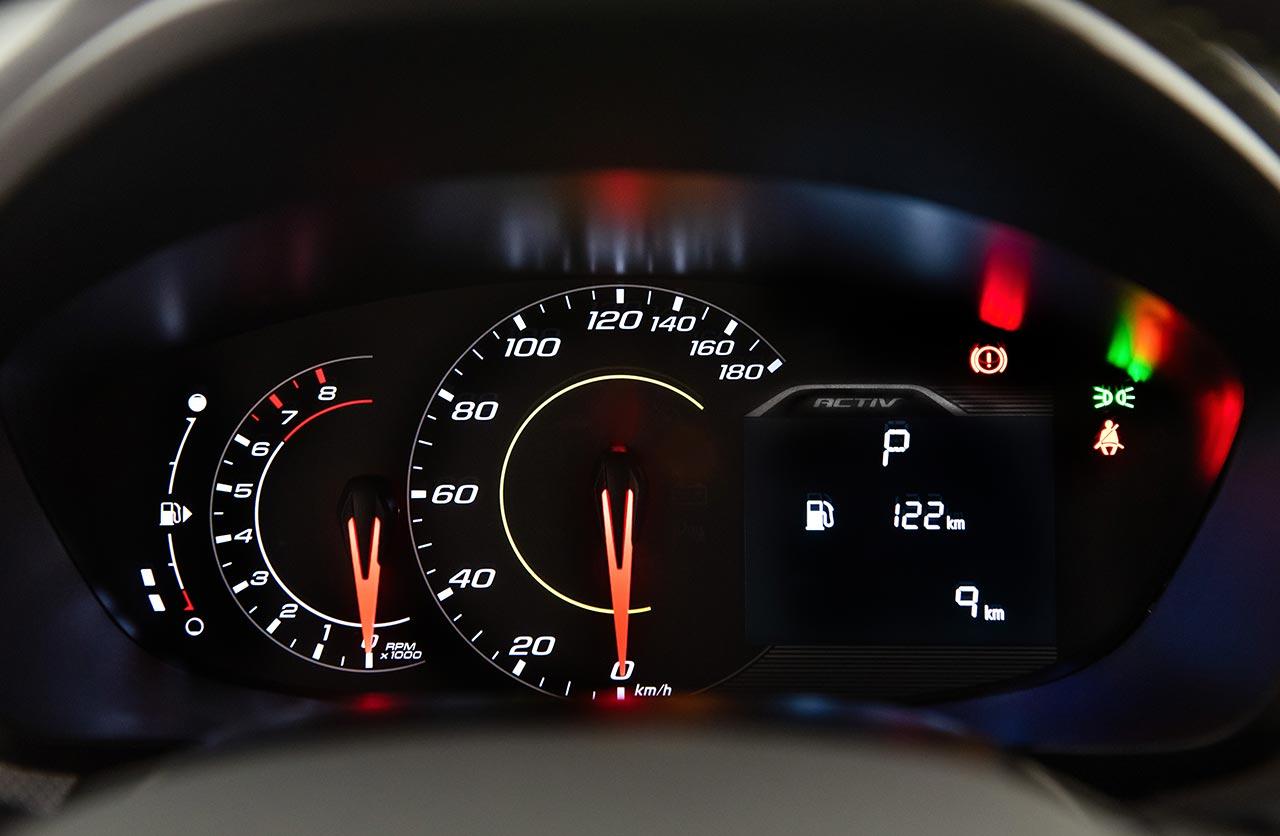 Interior Chevrolet Spin 2021