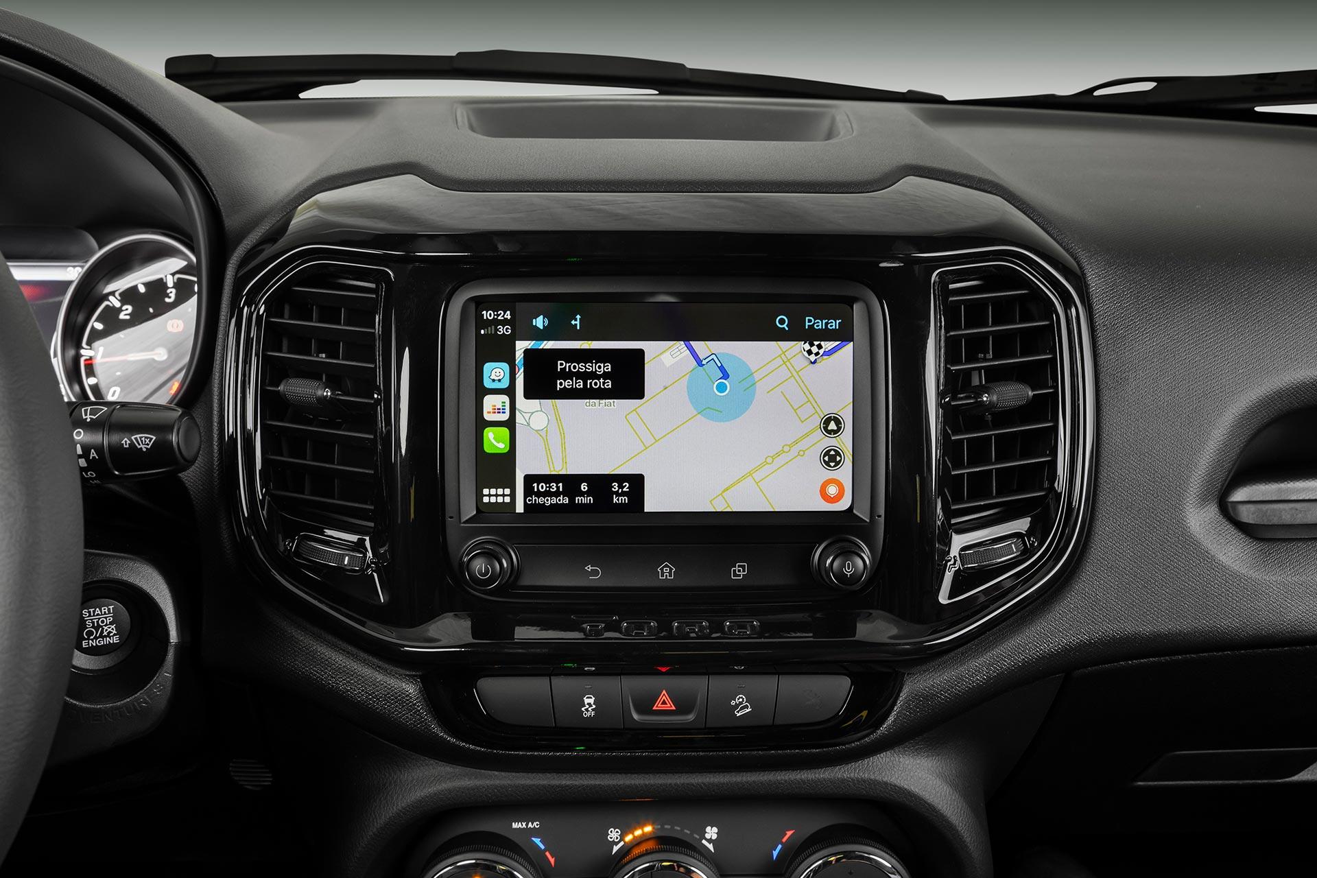 Nuevo sistema multimedia Fiat Toro 2021