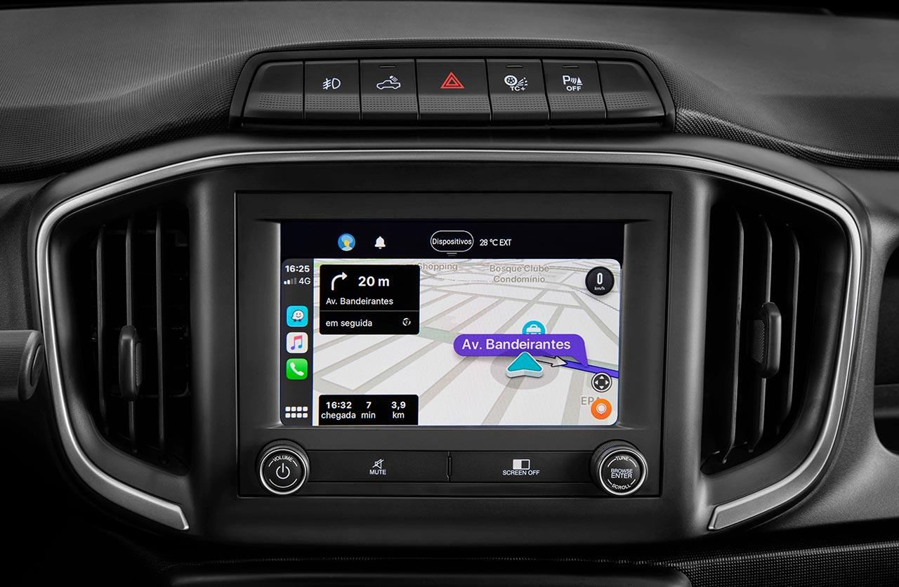 Sistema multimedia UConnect Nueva Fiat Strada Volcano