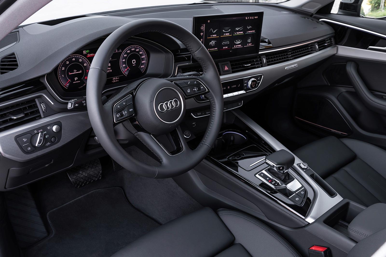 Interior nuevo Audi A4