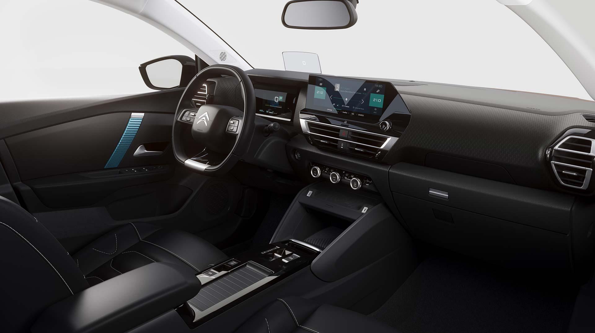 Interior nuevo Citroën C4 2021
