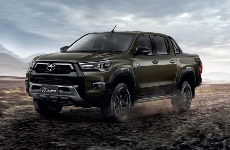 Nueva Toyota Hilux Rocco 2021