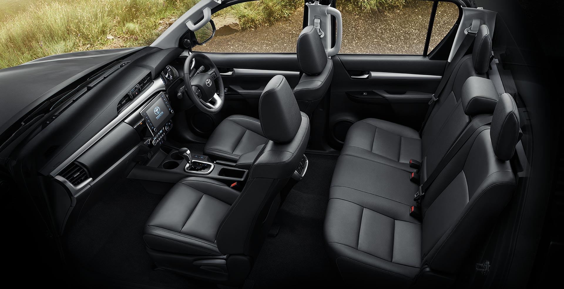 Interior Nueva Toyota Hilux 2021