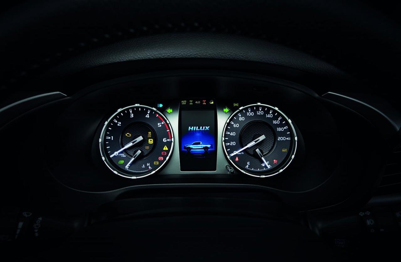 Tablero Nueva Toyota Hilux 2021