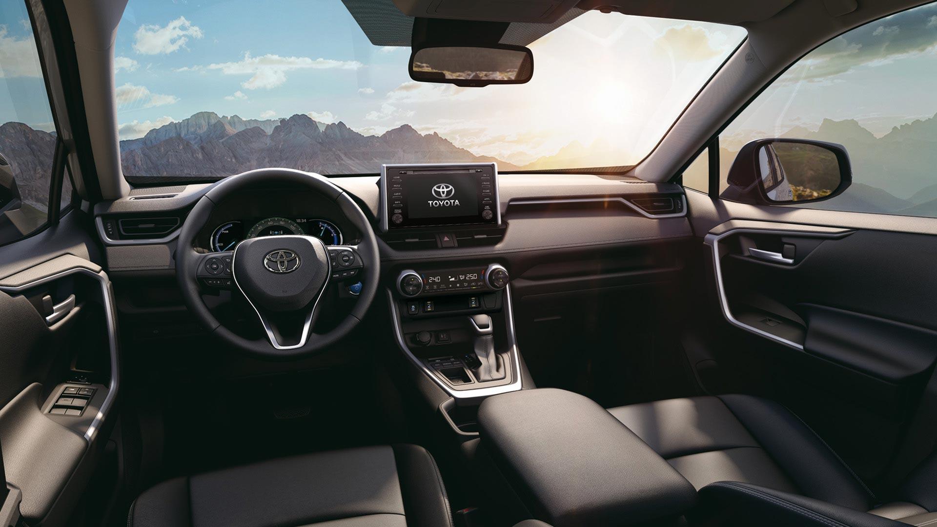 Interior Toyota RAV4 Hybrid 2021
