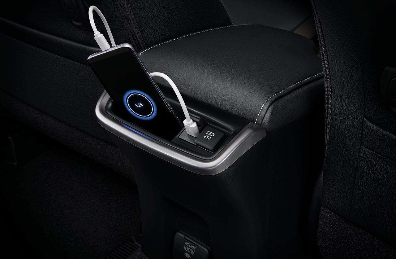 Interior Nueva Toyota SW4 2021