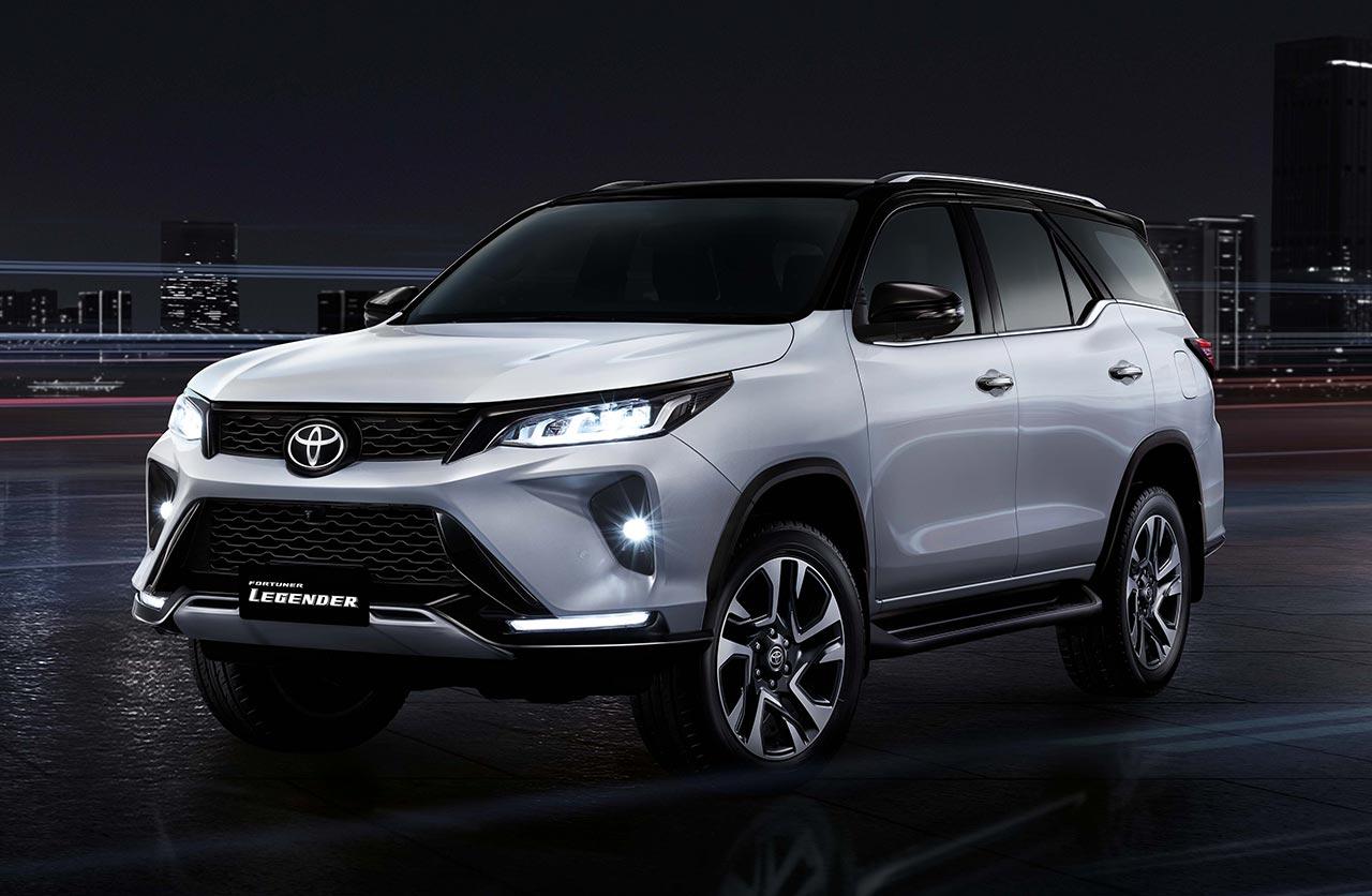 Nueva Toyota SW4 Legender 2021