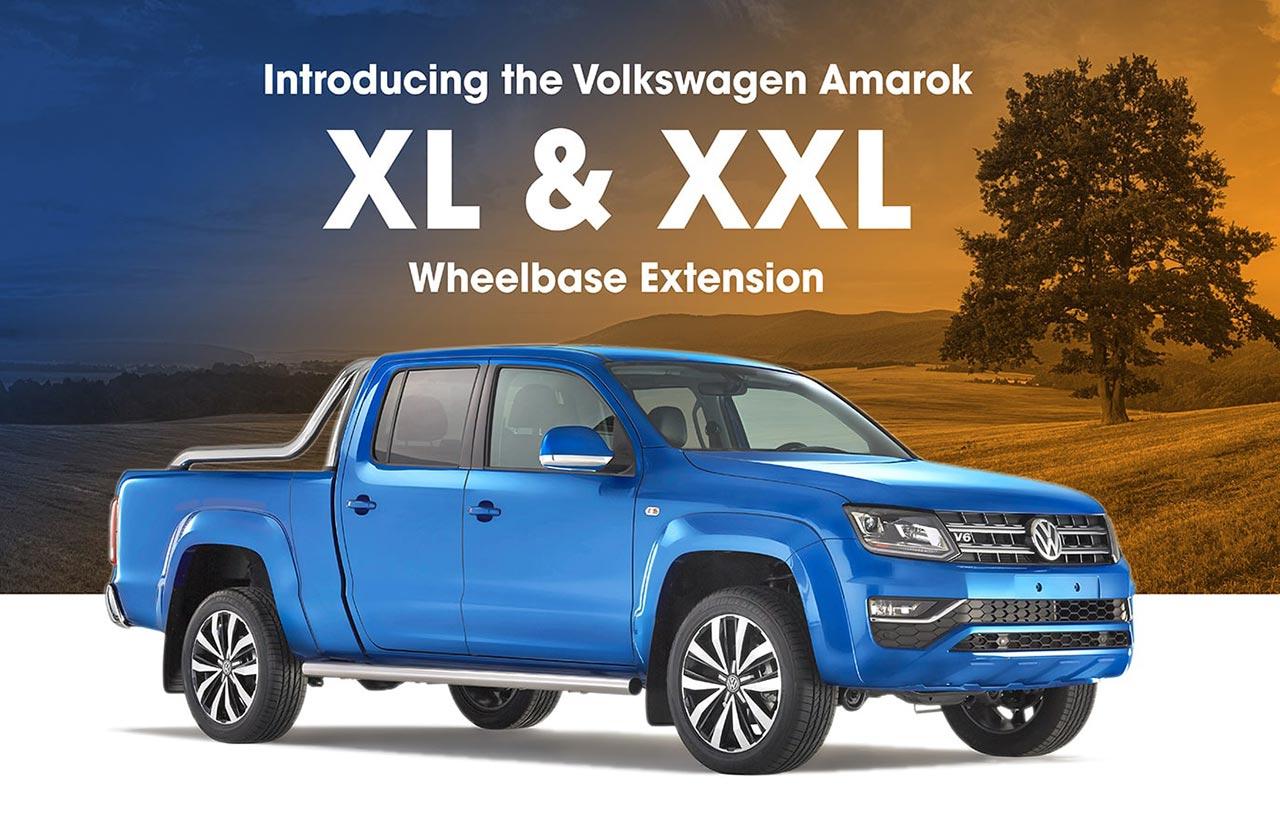 Volkswagen Amarok XL y XXL