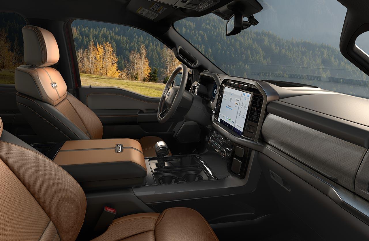 Interior Nueva Ford F-150 (2021)