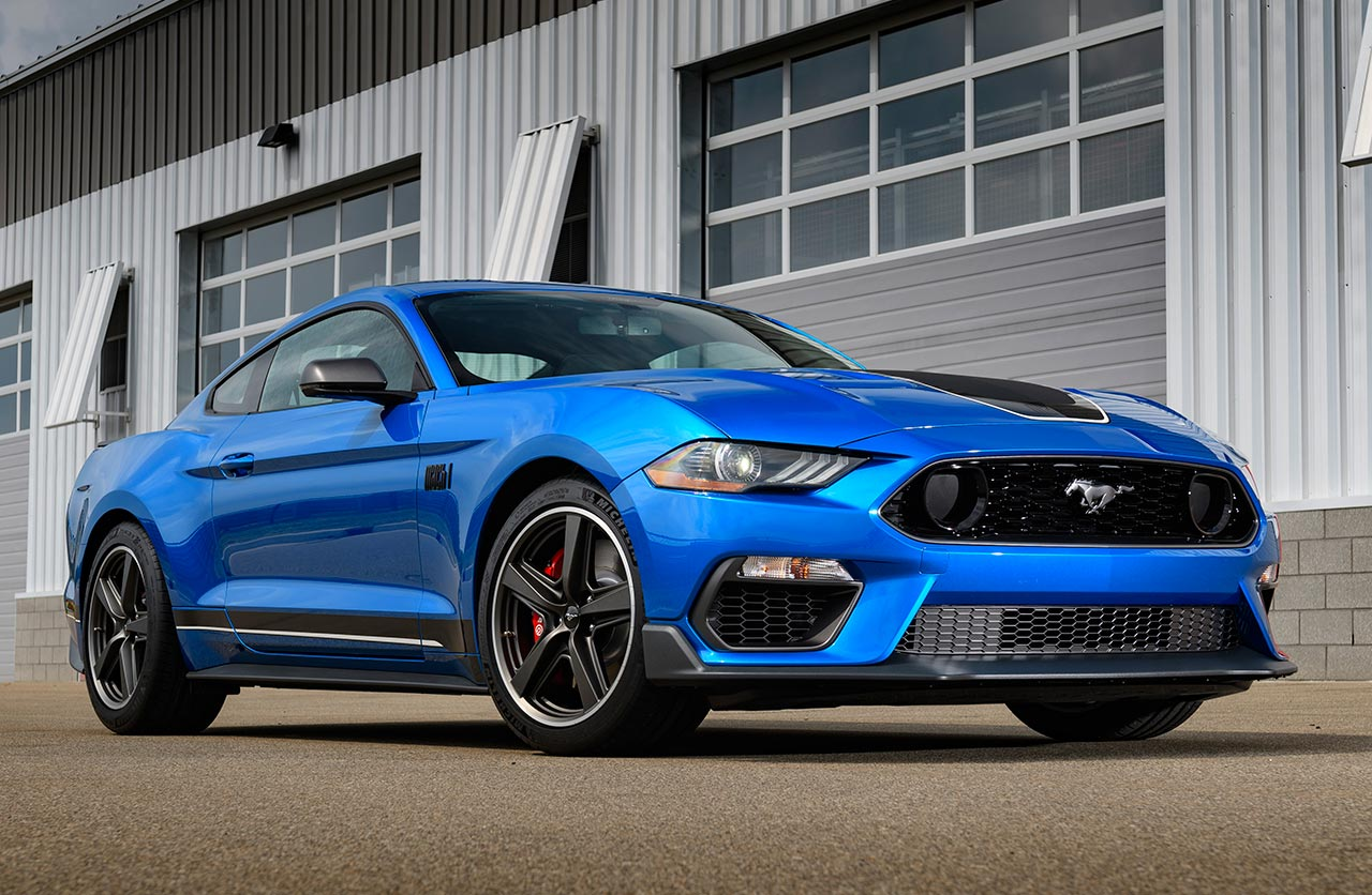 Nuevo Ford Mustang Mach 1 2021