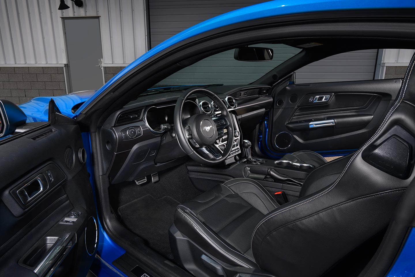 Interior Ford Mustang Mach 1 2021