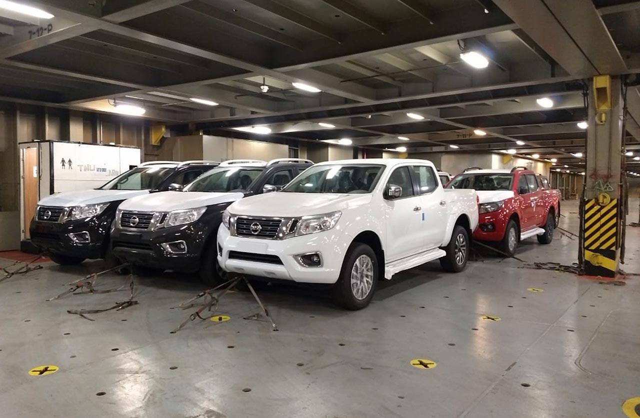 Nissan Frontier exportación a Brasil