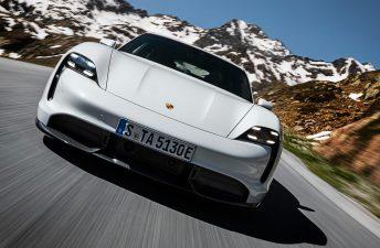 Porsche lanzó el Taycan en Argentina