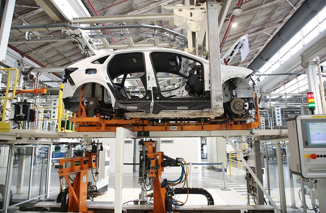 Inicio producción VW Nivus en Brasil