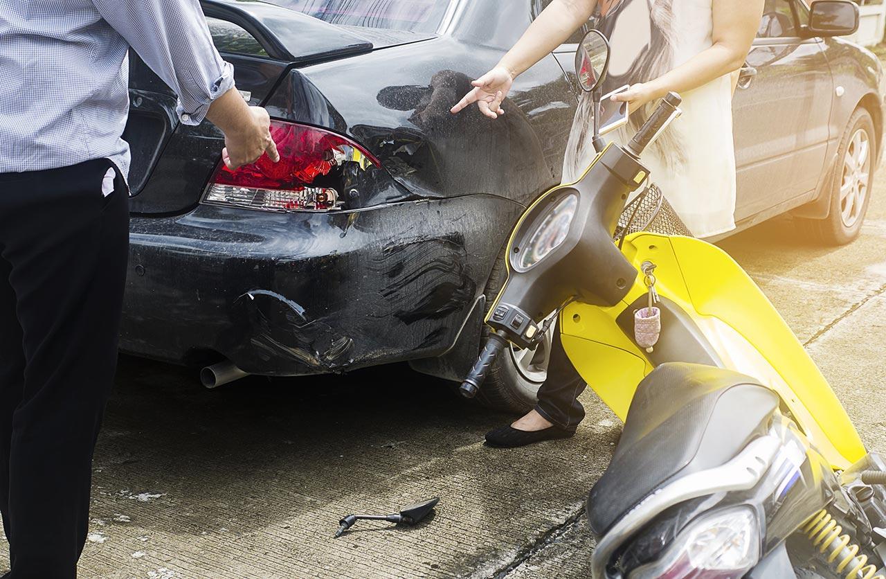 Cuarentena: quince accidentes diarios con motociclistas