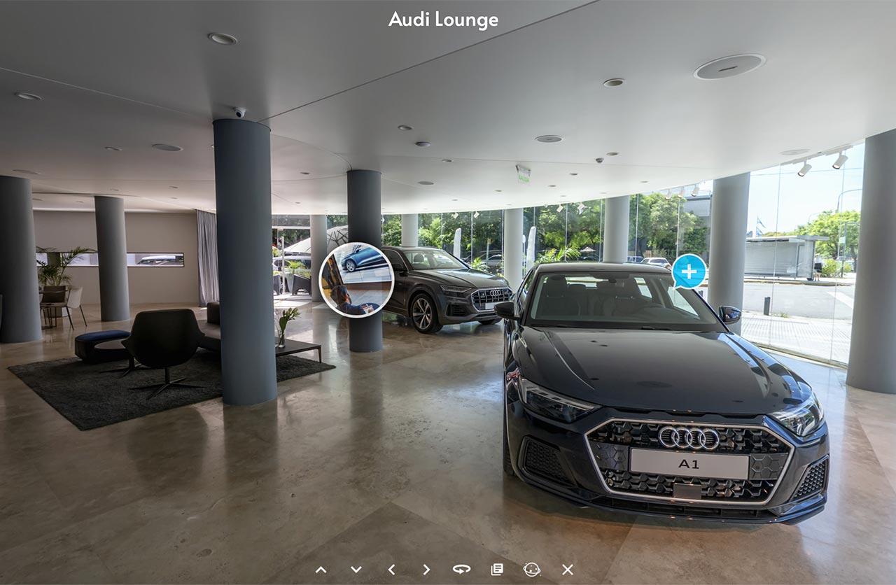 Audi Digital Lounge