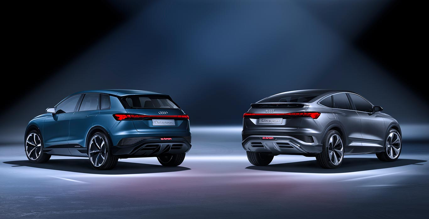 Audi Q4 y Q4 Sportback e-tron concept
