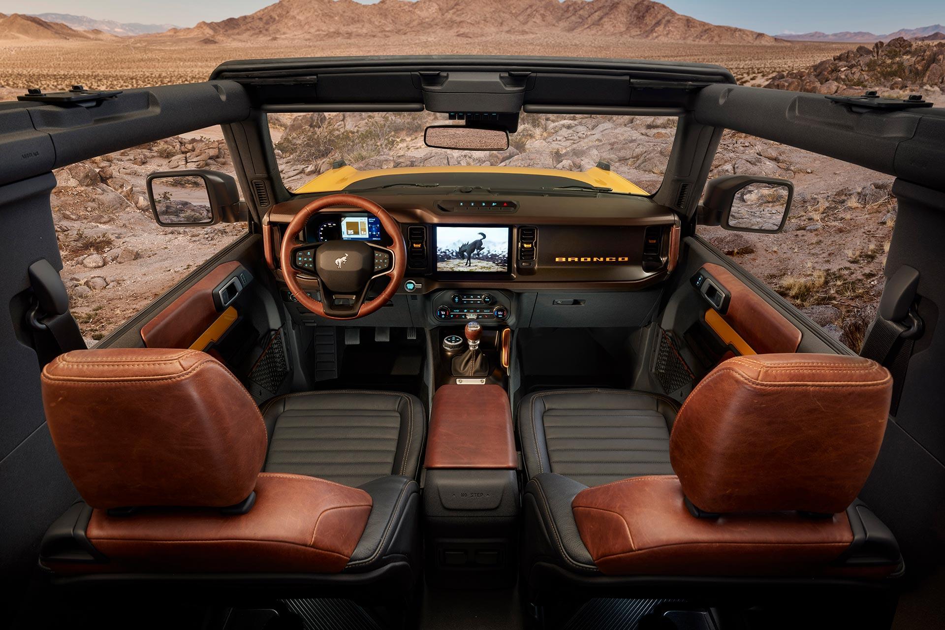 Bronco 2 puertas interior