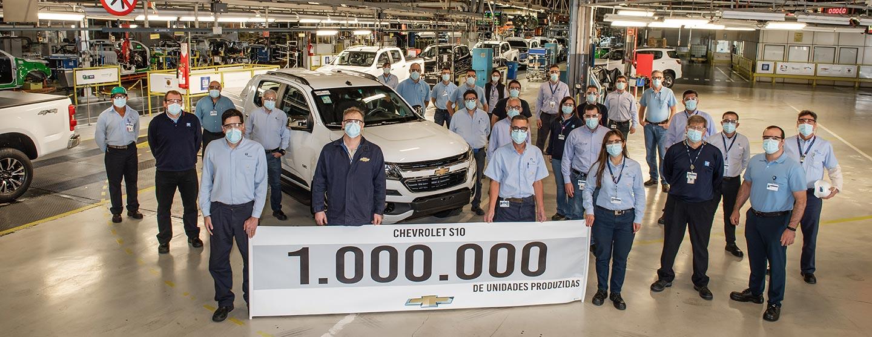 Chevrolet S10 1 millón de unidades producidas