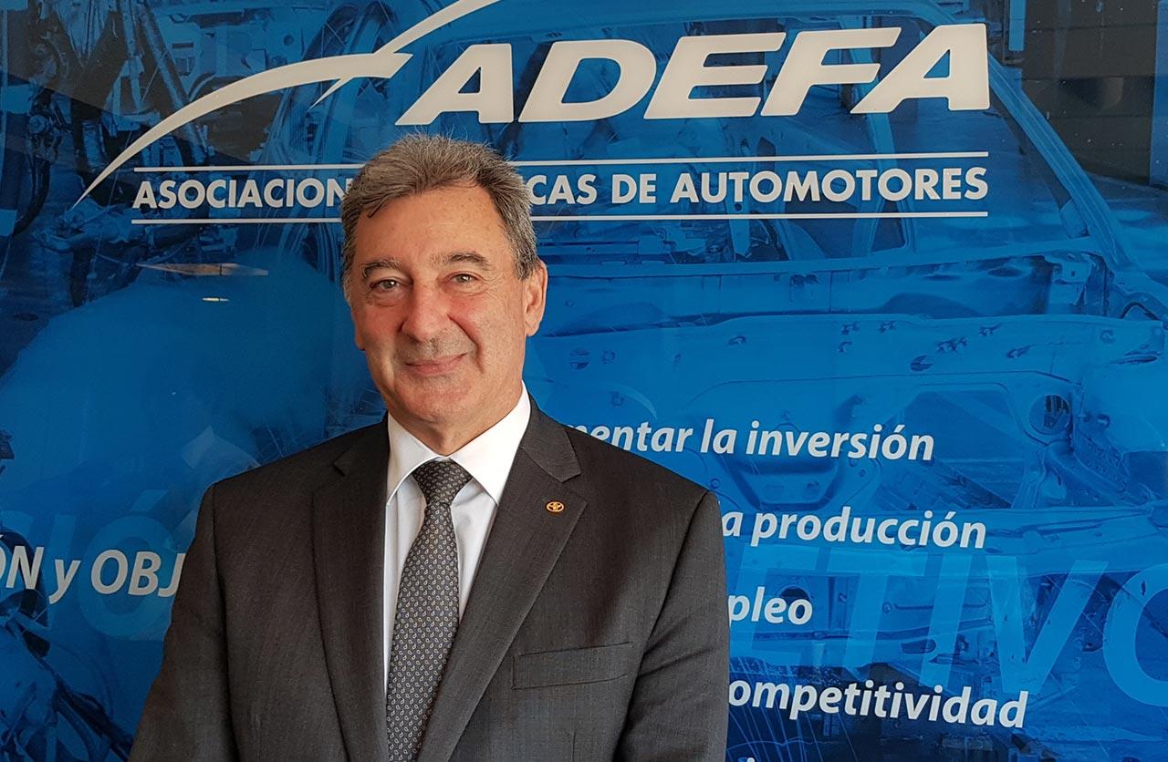 Daniel Herrero de Toyota asumió la presidencia de ADEFA - Mega Autos