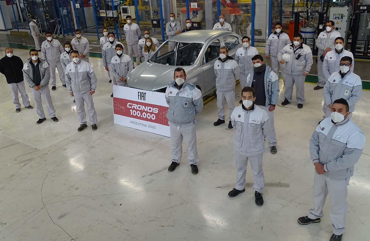 Fiat Cronos unidad 100 mil Ferreyra
