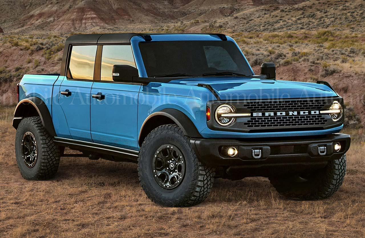 Se viene el Ford Bronco pick up