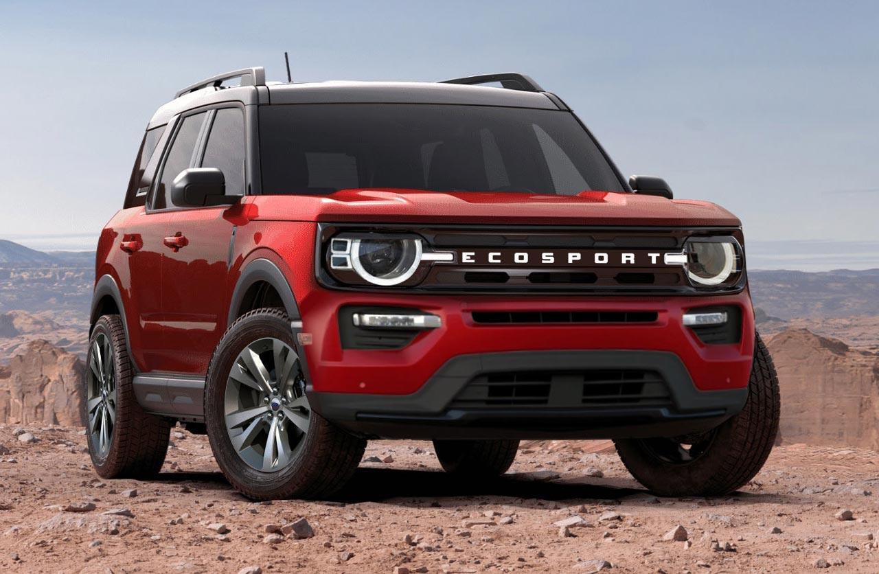 La próxima Ford EcoSport, ¿con estilo Bronco?