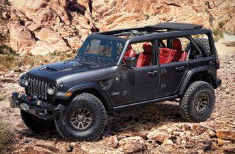 Jeep Wrangler, también con motor V8