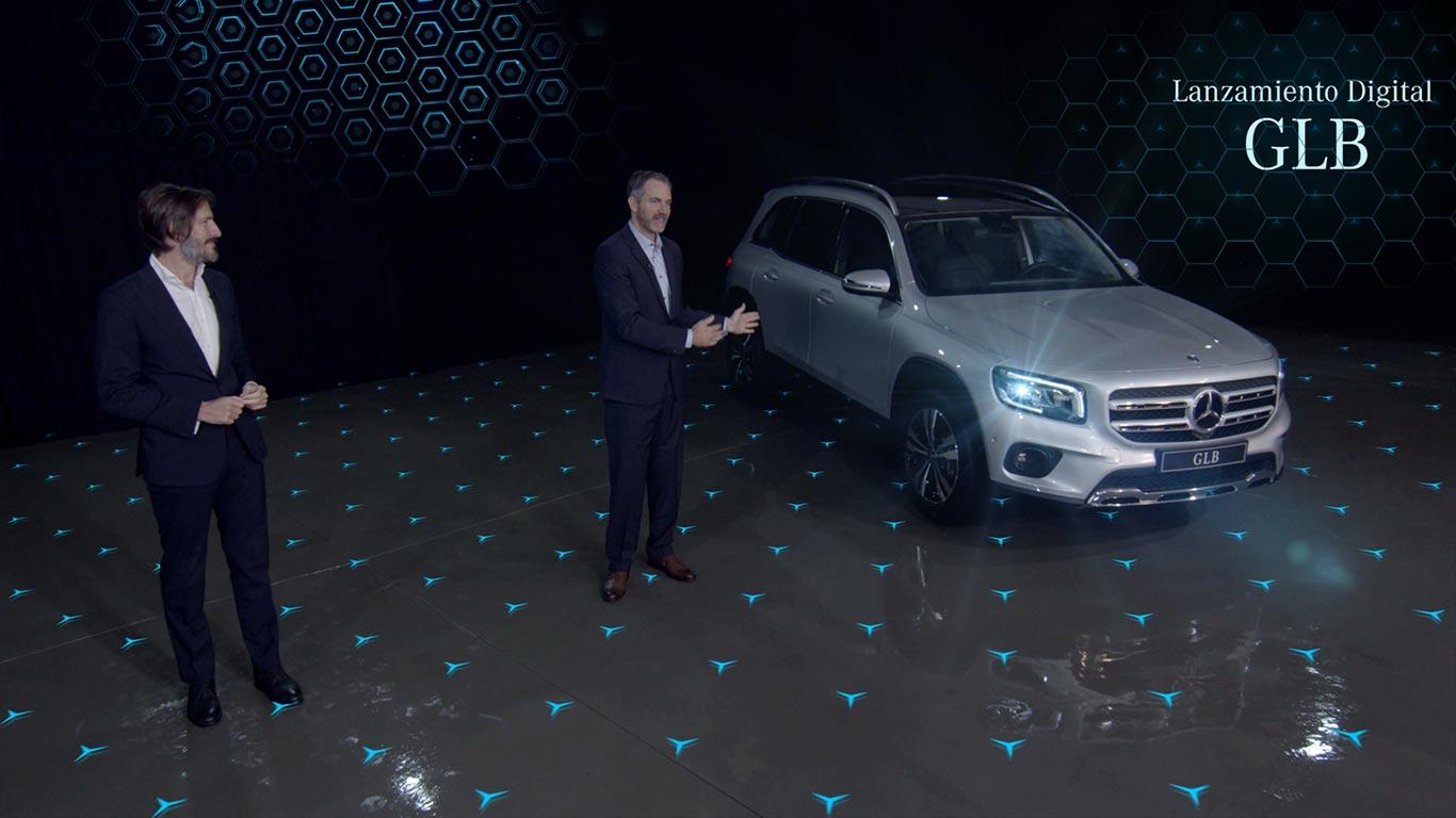 Lanzamiento digital Mercedes-Benz GLB