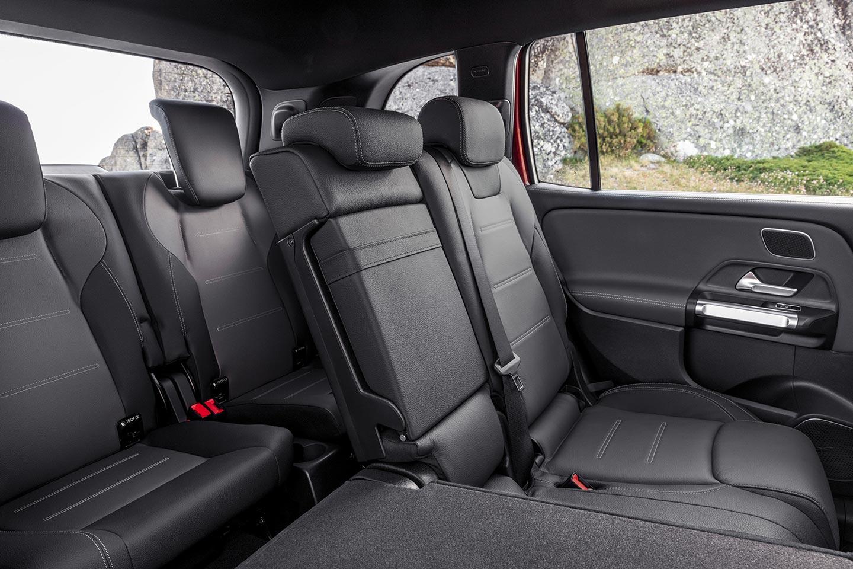 Interior Mercedes-Benz GLB 7 asientos