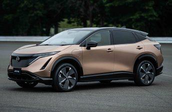 Ariya, el SUV coupé eléctrico de Nissan