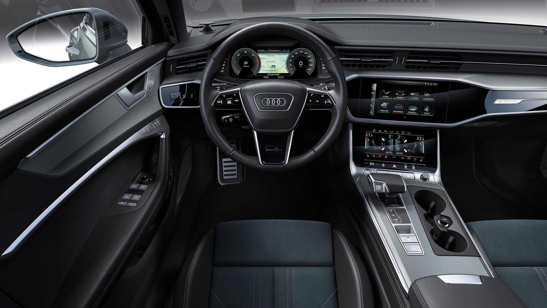Interior Nuevo Audi A6 allroad
