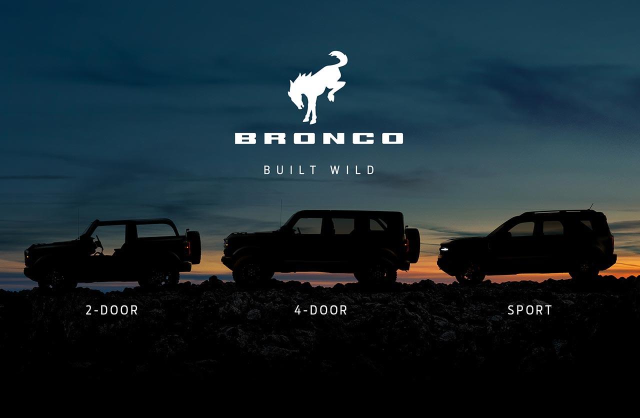 Se vienen los nuevos Ford Bronco