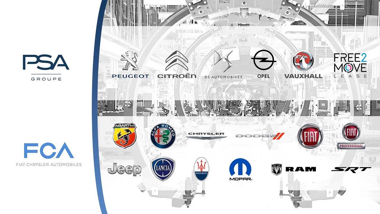 Stellantis - FCA y PSA marcas