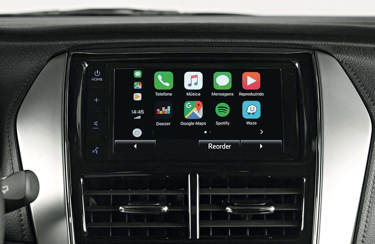 Nuevo sistema multimedia Toyota Yaris