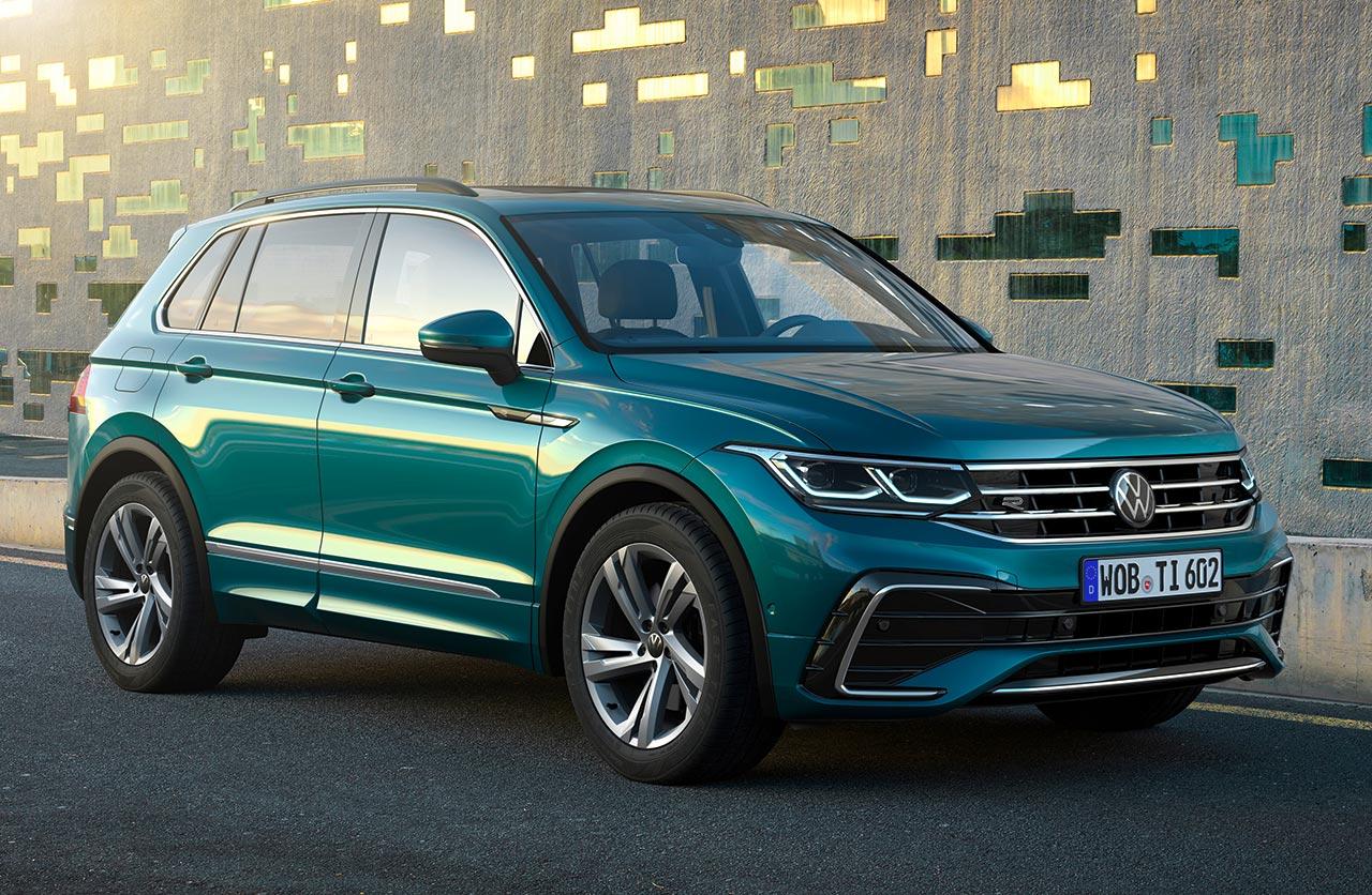 Con ustedes, la nueva Volkswagen Tiguan